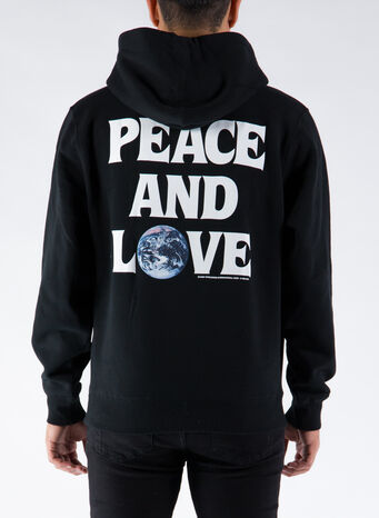 FELPA PEACE & LOVE, BLACK, small