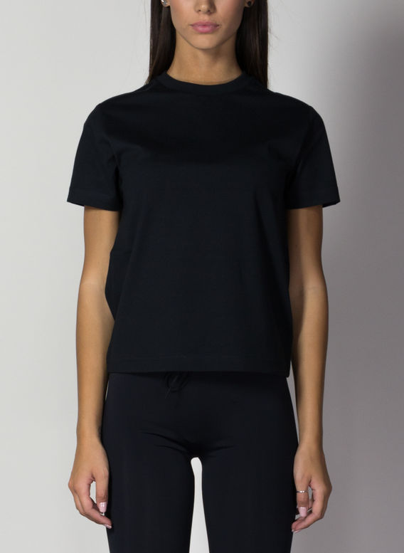 T-SHIRT, BLACK, medium