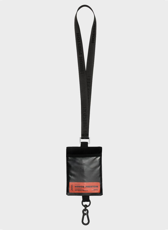 PORTACHIAVI PASSPORT KEYCHAI, BLACK, medium