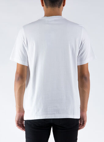 T-SHIRT TREFOIL, WHITE, small