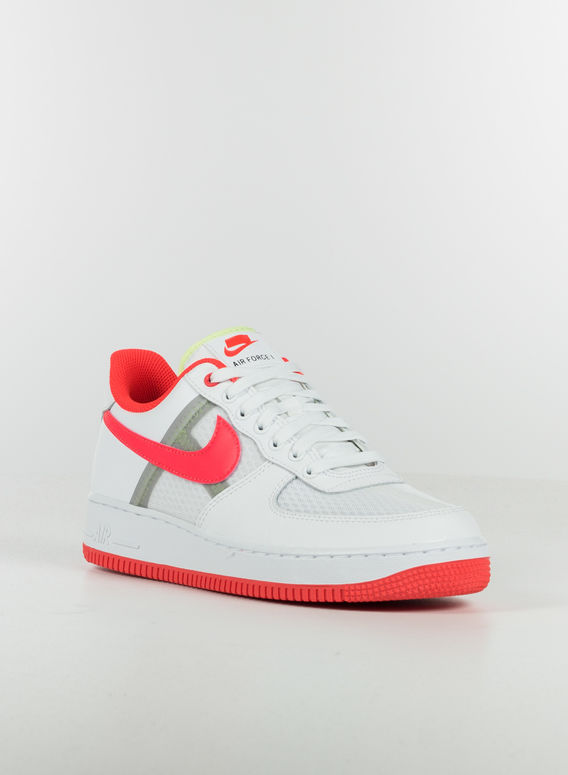 SCARPA AIR FORCE 1 '07 LV8, WHITE/BRIGHTCRIMSON, medium