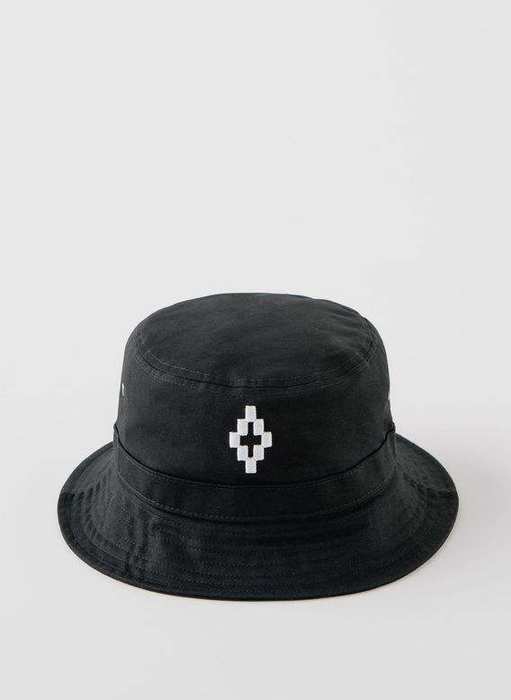 CAPPELLO CROSS BUCKET, BLACK/WHITE, medium