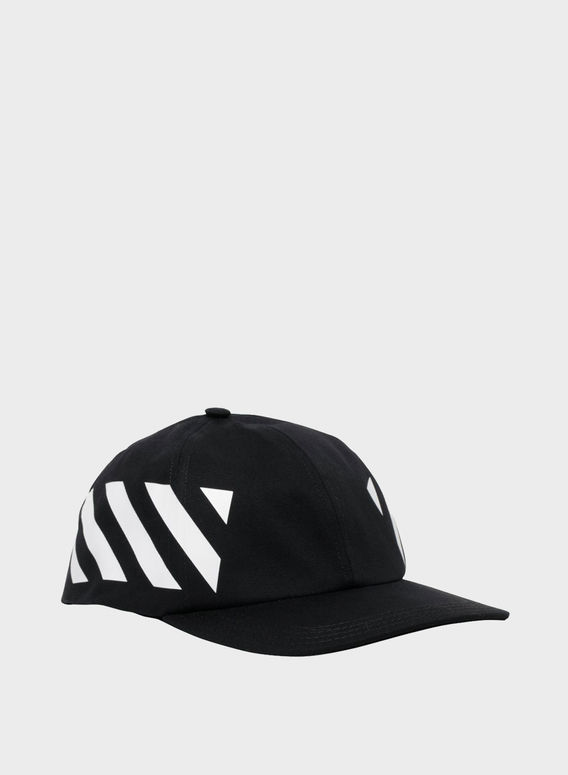 CAPPELLO DIAG BASEBALL, BLACK/WHITE, medium