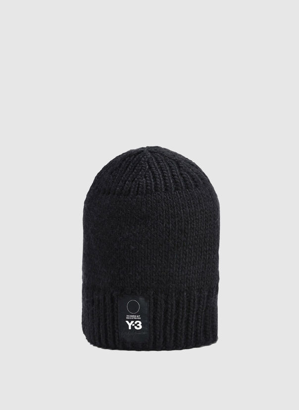 CAPPELLO KNIT BEANIE, BLACK, large