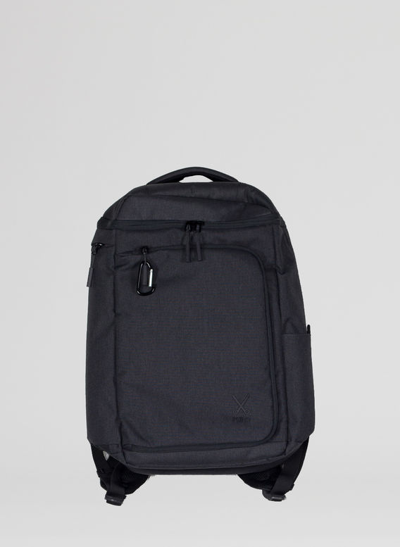 ZAINO PHILO BACKPACK, BLACK, medium