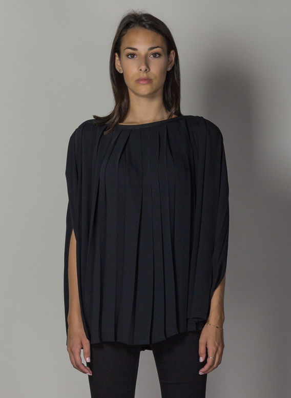 TOP A PIEGHE, 900BLACK, medium