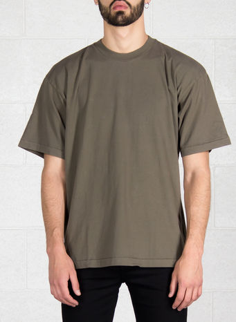 T-SHIRT CLASSIC, MILITARY, small