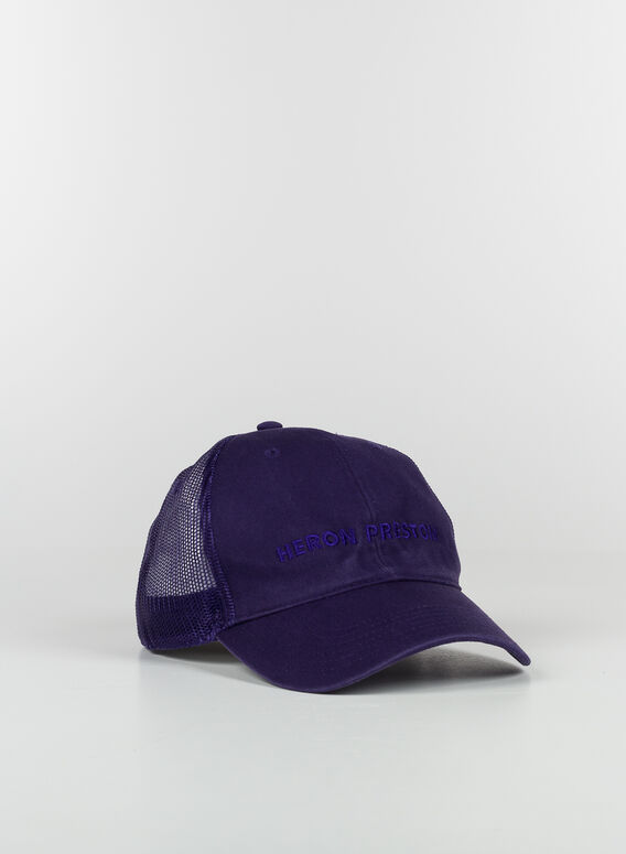 CAPPELLO HP LOGO TRUCKER HAT, 3535PURPLEPURPLE, medium