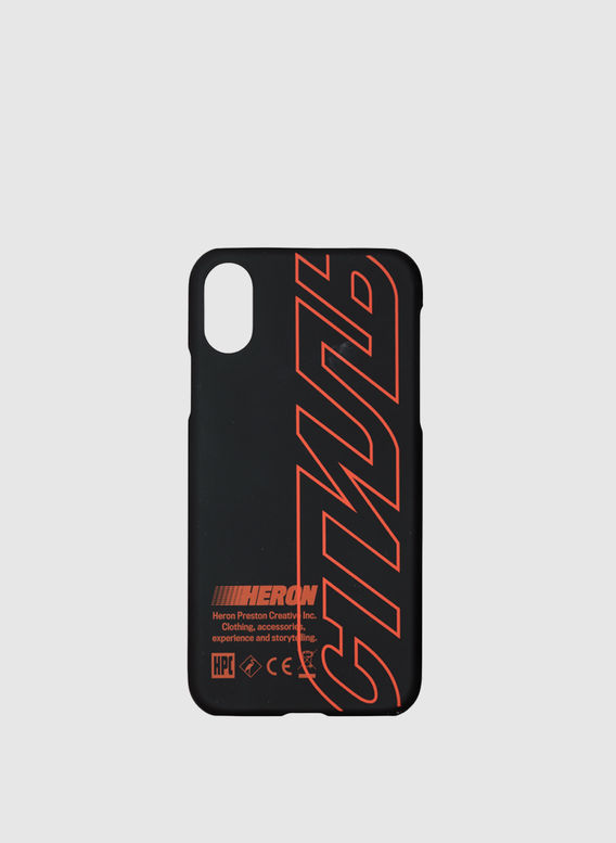 COVER ALL OVER CTNMB IPHONE X, BLACK/RED, medium