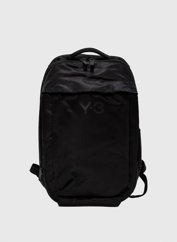 ZAINO Y-3 BLACKPACK, BLACK, large