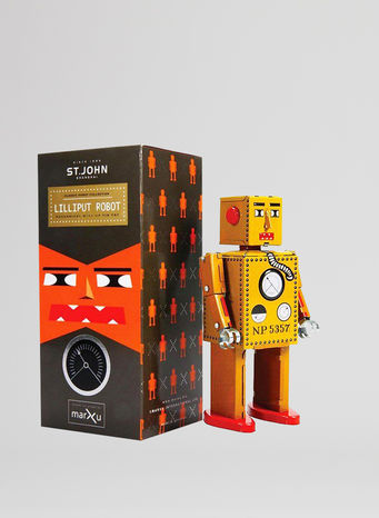 X ROBOT TINY TOY I17, LILLIPUT ROBOT, small