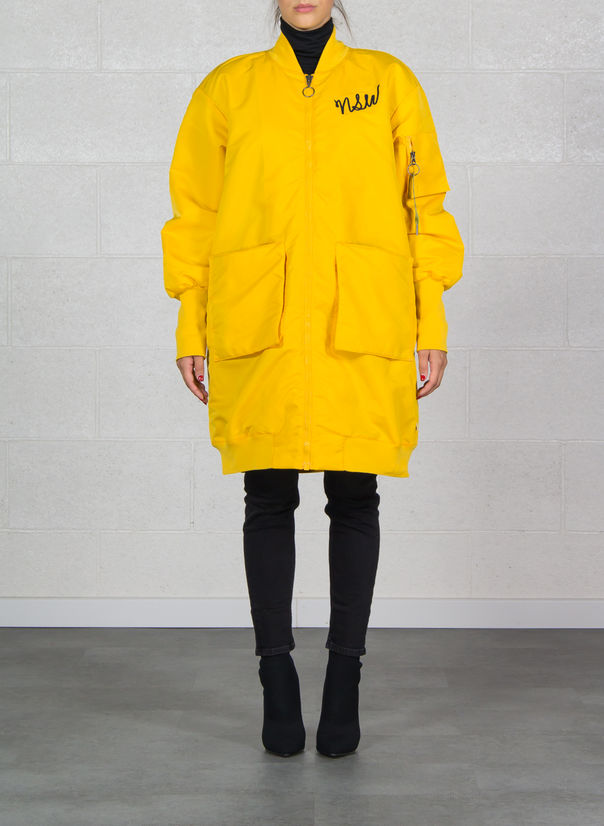 GIUBBOTTO PARKA NSW, YELLOWOCHRE, large