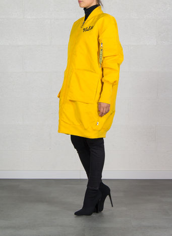 GIUBBOTTO PARKA NSW, YELLOWOCHRE, small