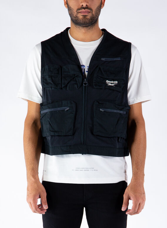 SMANICATO CL V FISHING VEST, BLACK, medium