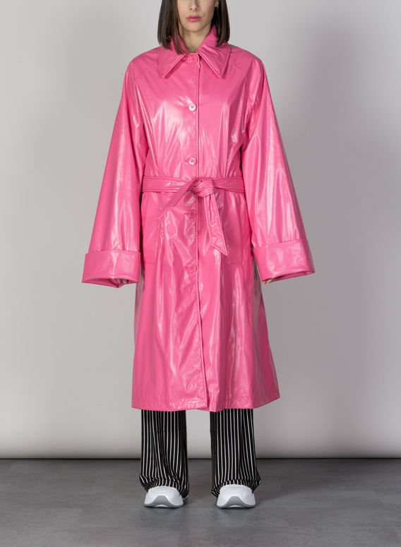 GIUBBOTTO TRENCH, 251BARBIEPINK, medium