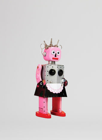 X ROBOT TINY TOY I17, ROXY ROBOT, small