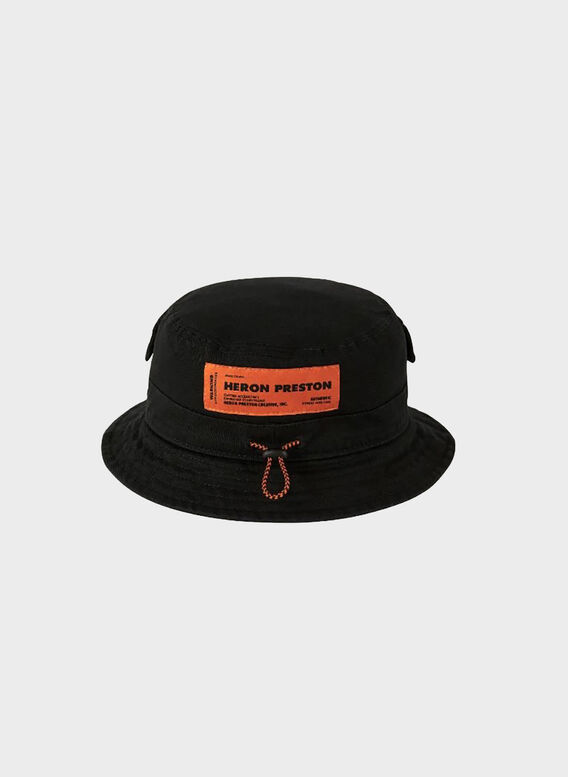 CAPPELLO BLACK BUCKET, 1000BLACK, medium