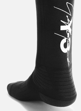 CALZINI Y-3 TUBE SOCKS, BLACK/WHITE, small