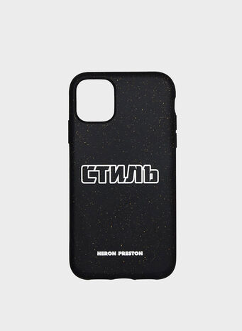 COVER IPHONE 11, BLACK/WHITE, small