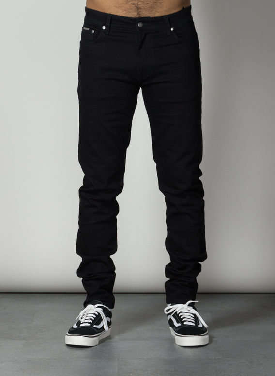 JEANS ESSENTIAL JEANS, JETBLACK, medium