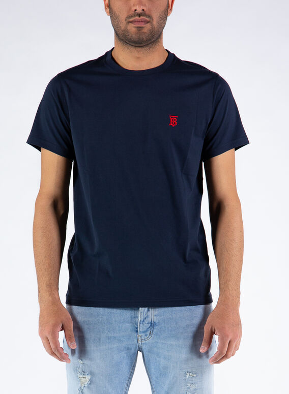 T-SHIRT PARKER, NAVY, medium