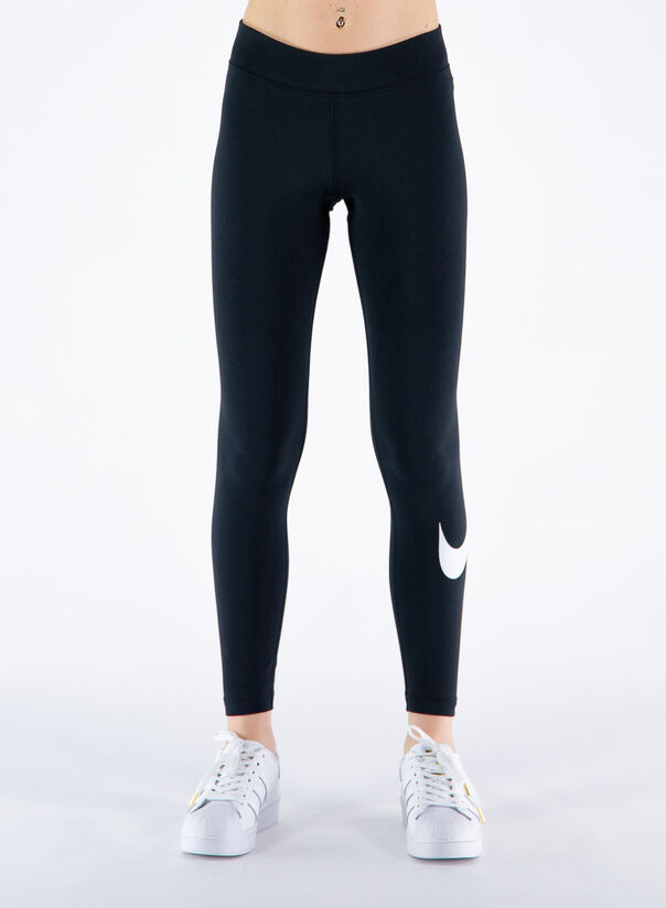 LEGGINGS SPORTSWEAR ESSENTIAL, BLACKWHITE, large