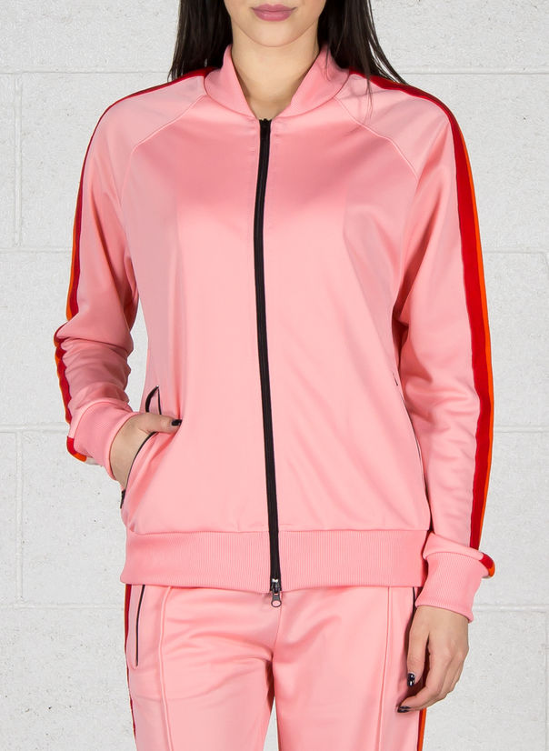 FELPA ZIP, ROSA, large