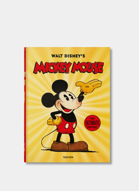 LIBRO MICKEY MOUSE,THE ULTIMATE HISTORY, WHITE, medium