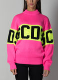 MAGLIONE LOGO COLORFUL, 06PINK, thumb