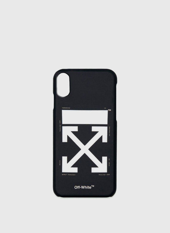 COVER ARROW CARRYOVER IPHONE, BLACK/WHITE, medium
