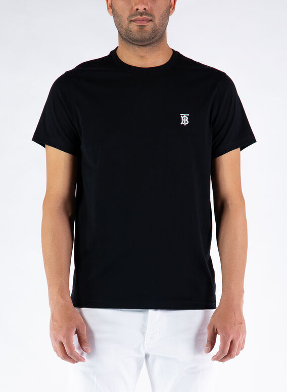 T-SHIRT PARKER, BLACK, medium