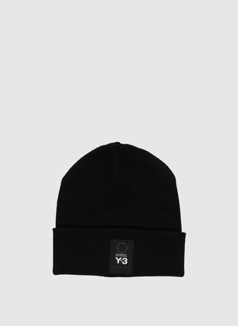 CAPPELLO LOGO BEANIE, BLACK, small