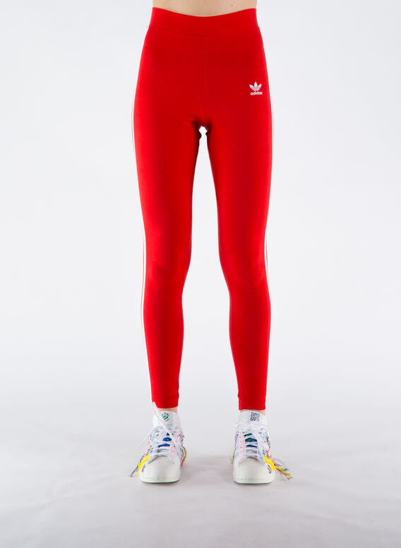 LEGGINGS 3 STR TIGHT, SCARLET, medium