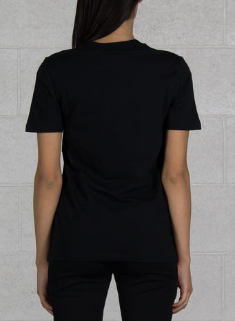 T-SHIRT ORIGINALS TRIFOGLIO, BLACK, small