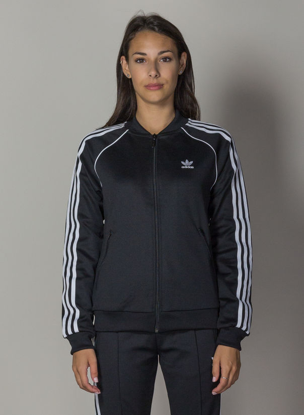 FELPA TRACK JACKET SST, BLACK, large