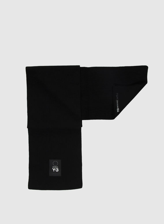 SCIARPA SCARF, BLACK, medium