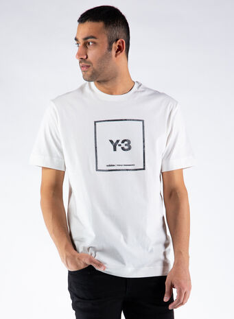 T-SHIRT U SQUARE SS, WHITE, small