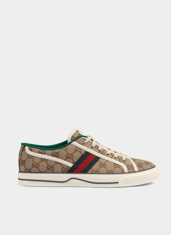 SNEAKER GUCCI TENNIS 1977 GG UOMO., 9766, medium