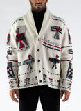 CARDIGAN NOSH, WHITE, thumb