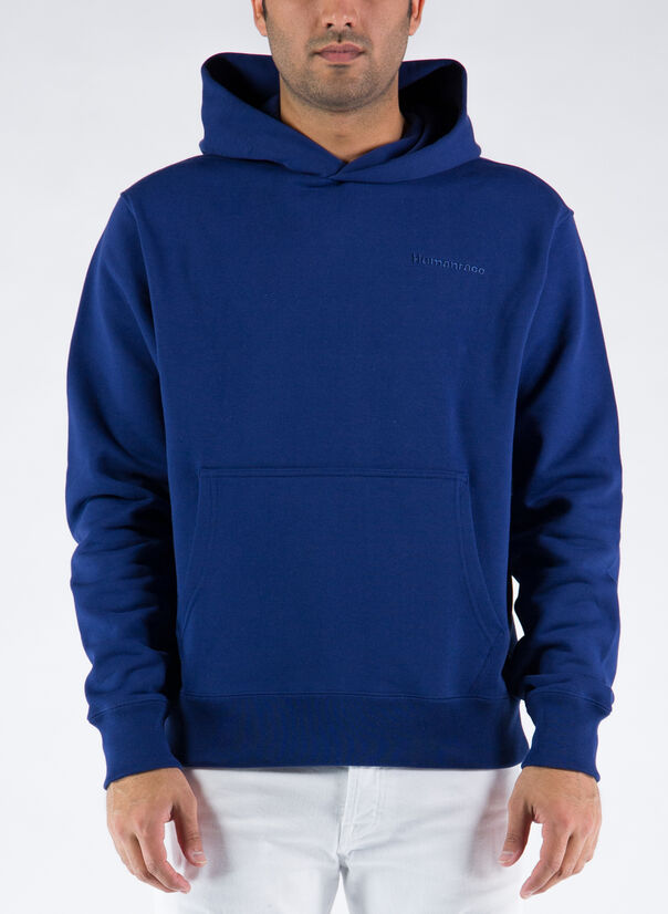 FELPA HOODIE PHARRELL WILLIAMS BASICS, NIGHTSKY, large