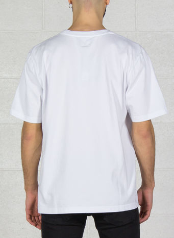 T-SHIRT STOCKS CREW, WHITE, small