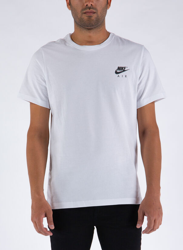 T-SHIRT SPORTSWEAR, WHITE, large