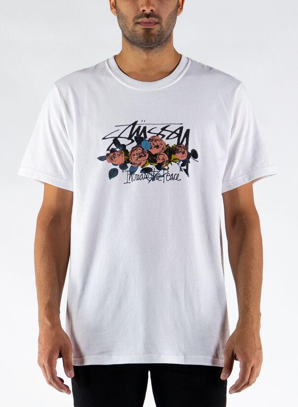 T-SHIRT ITP ROSES, WHITE, large