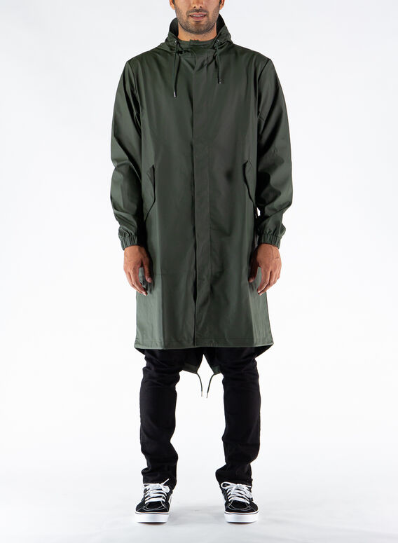 GIUBBOTTO FISHTAIL PARKA, GREEN, medium