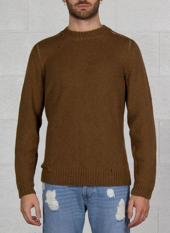 MAGLIONE HAND STITCH SWEAT, 62, medium
