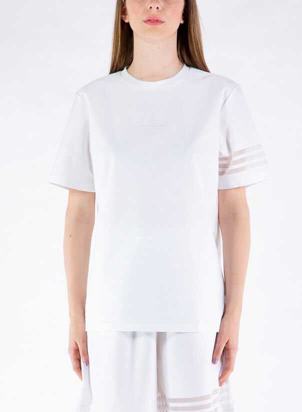 T-SHIRT TREFOIL, WHITE, large